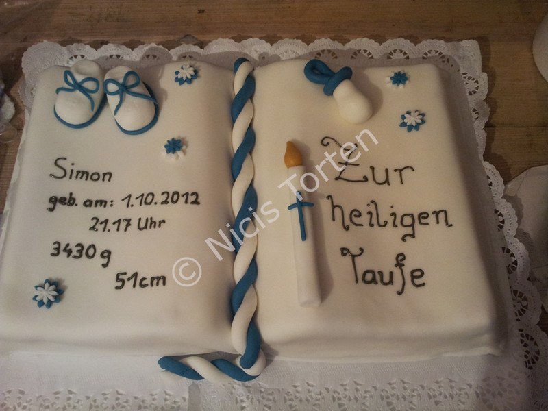 Decorations For Confirmation Cake